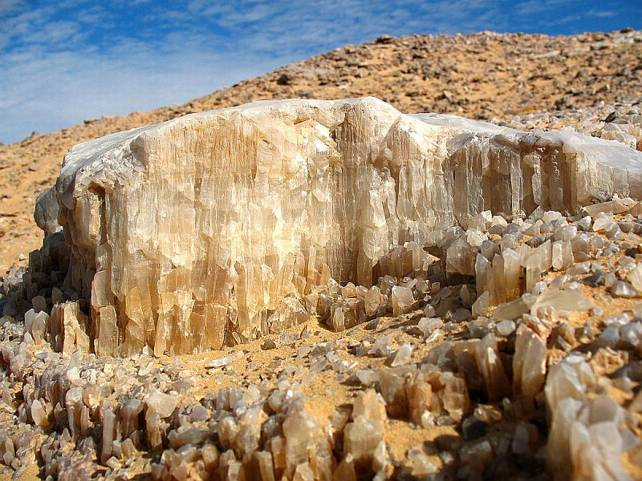 Image result for Egypts crystal desert