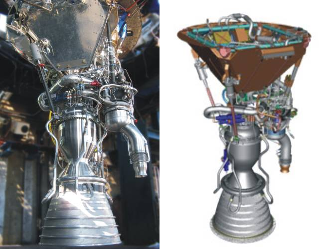 Image result for merlin 1a rocket  engine