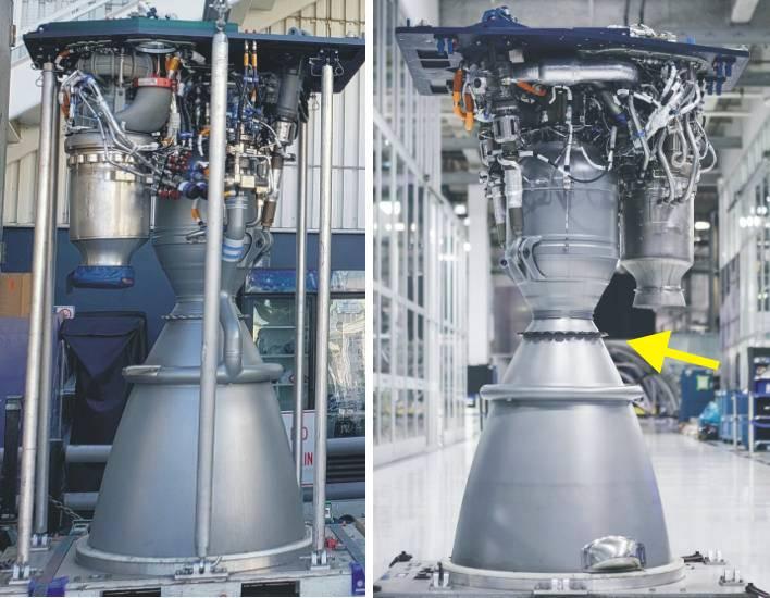 Merlin Dplus Plus on Pressure Chamber Rocket Engine